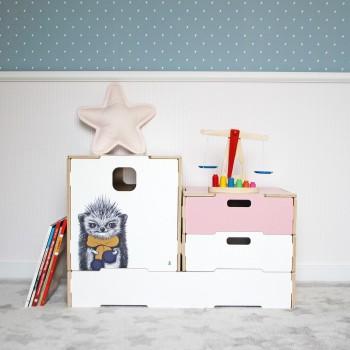 Ящик для игрушек Fast box big (Ёжик)