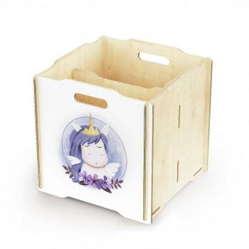 Ящик для игрушек Simple Box big (единорог)