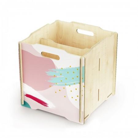 Ящик для игрушек Simple Box big (розовый)