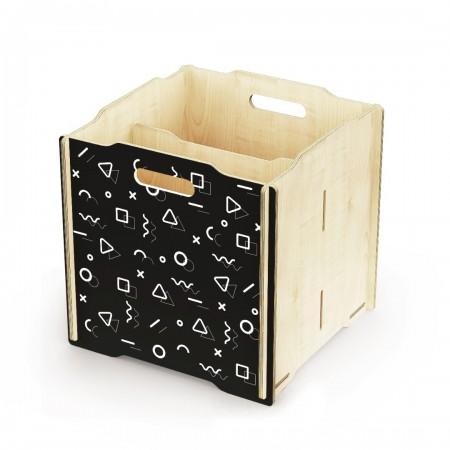 Ящик для игрушек Simple Box big (чёрный)