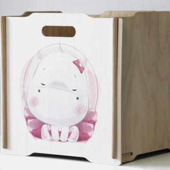 Ящик для игрушек Simple Box big (бегемот)