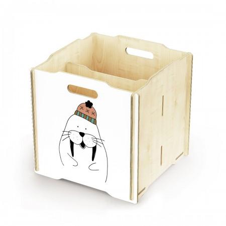 Ящик для игрушек Simple Box big (Моржонок)