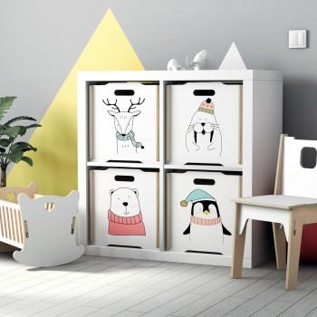 Ящик для игрушек Simple Box big (Медвежонок)